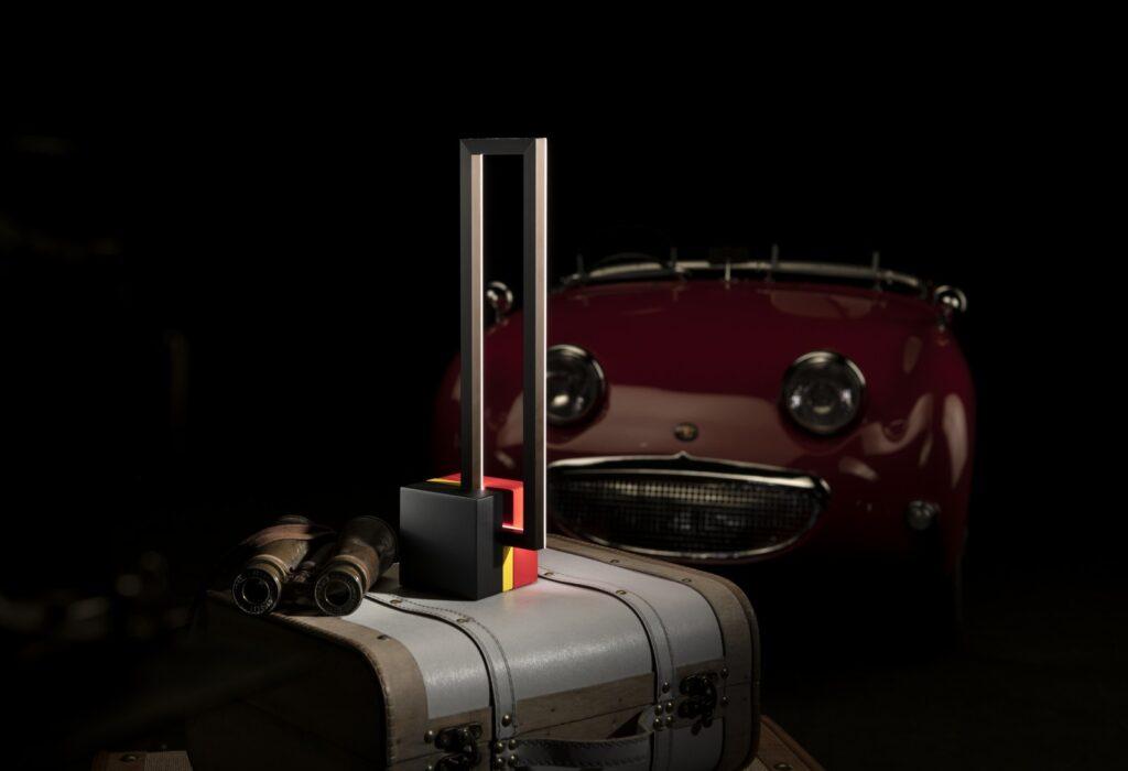 Omaggio Mondrian auto