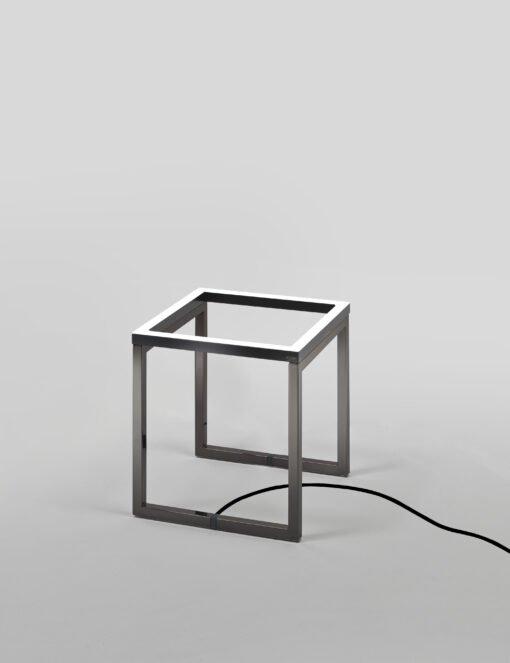 Frame Cubo Nickel nero Grigio antracite Una cornice