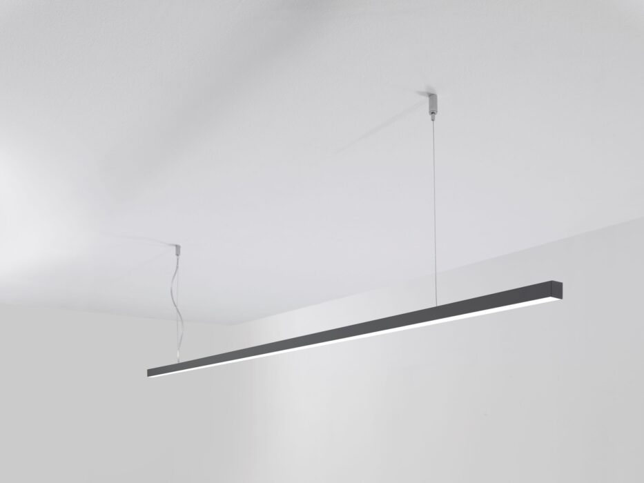 LED Design - Lampada Sospesa FORIS 222 nera