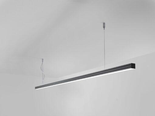 LED Design - Lampada Sospesa FORIS 333 nero