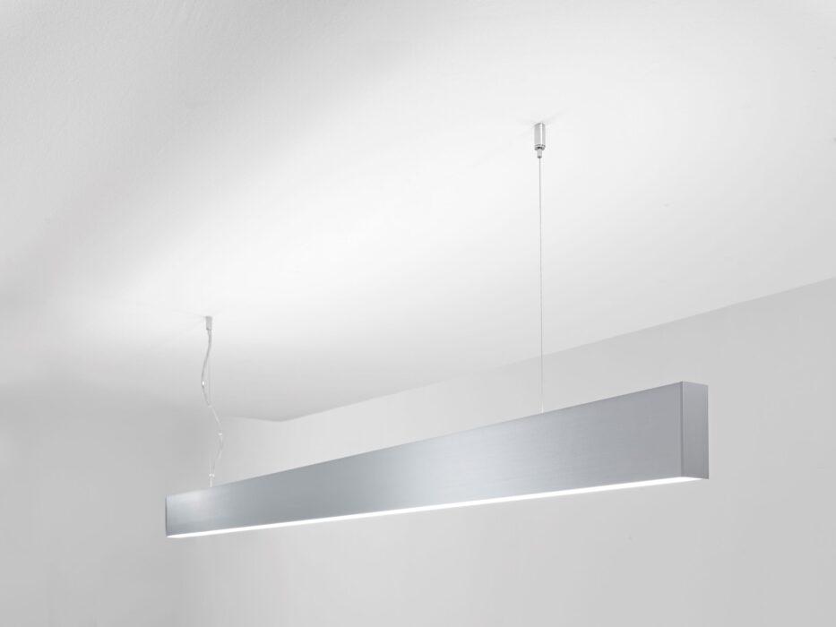 LED Design - Lampada Sospesa FORIS Pigreco argento