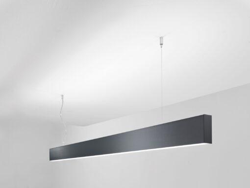 LED Design - Lampada Sospesa FORIS Pigreco nero