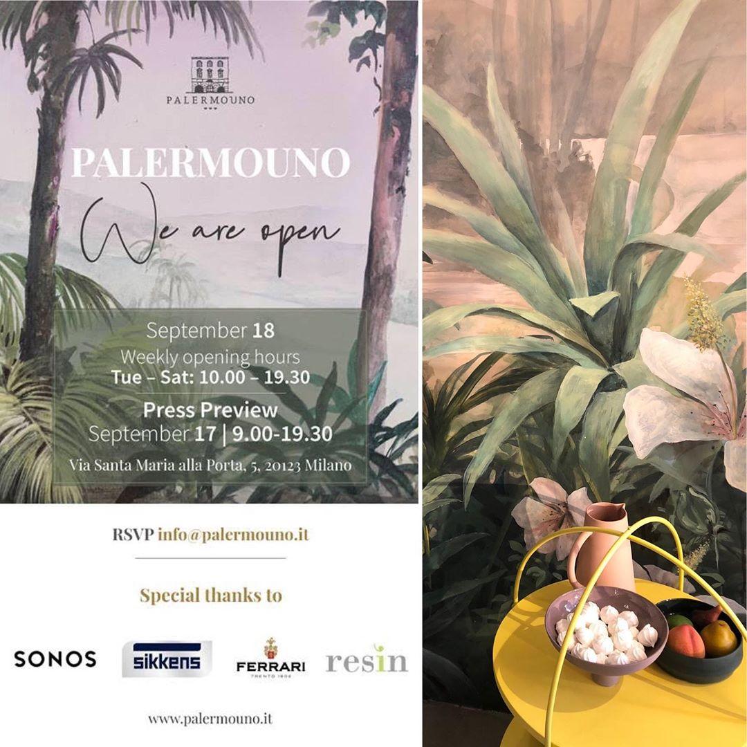 PalermoUno Inaugurazione - Partner Foris Luce