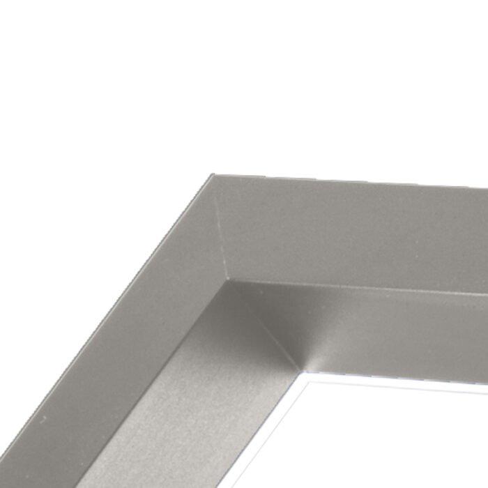Foris Lampada da tavolo Mondrian piccola - noce e argento