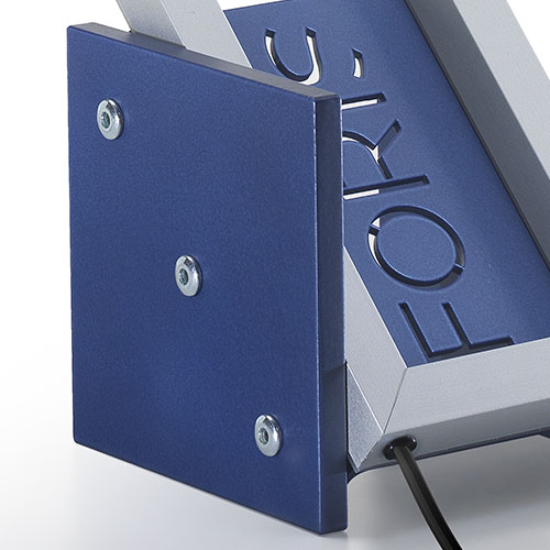 Mondrian Sport Lampada - Dettaglio laterale Blu