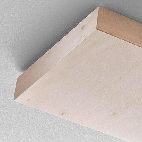 Tiglio legno finitura lampade Foris